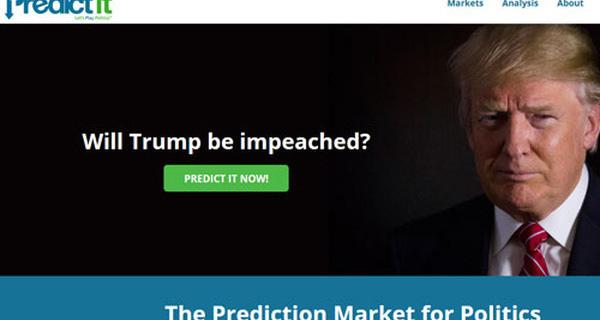 Giới cá độ tăng đặt cược khả năng Trump mất chức