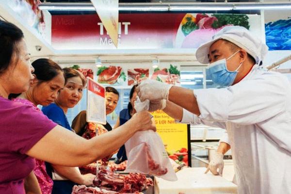 Giá heo tăng trở lại, siêu thị đồng loạt giảm giá