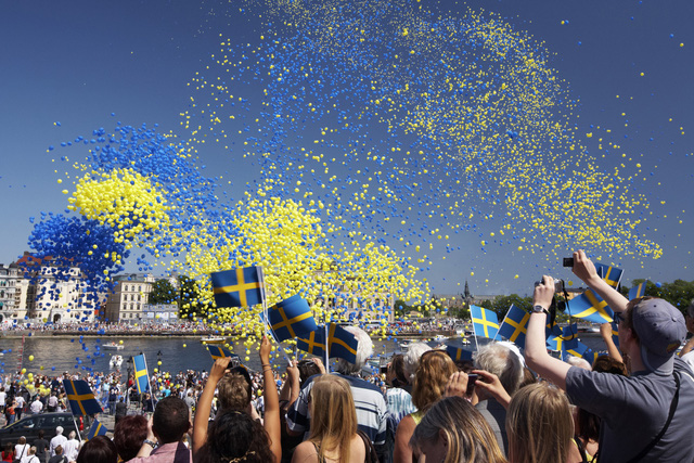 Người Thụy Điển hạnh phúc