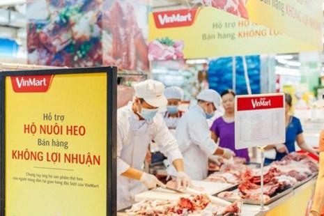 Các siêu thị đồng loạt giảm giá hỗ trợ người chăn nuôi, người tiêu dùng không lợi nhuận