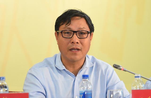 Đại diện Bộ KH&ĐT tại buổi họp báo. Ảnh: VGP/Quang Hiếu