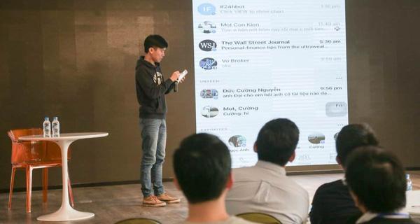 Chàng trai 9x ra mắt trợ lý ảo trong lĩnh vực tài chính đầu tiên tại Việt Nam