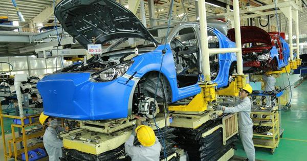 Miễn thuế tiêu thụ đặc biệt ô tô trong nước