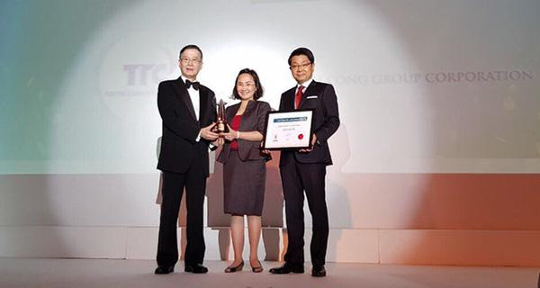 TTC nhận giải thưởng quốc tế Asia Responsible Entrepreneurship Awards - Hạng mục Green Leadership