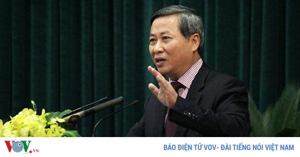 Khởi tố nguyên Phó Chủ tịch UBND TP Hà Nội Phí Thái Bình