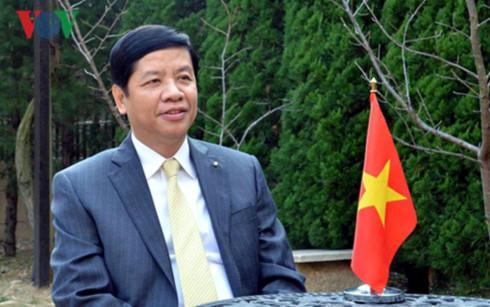 Ông Nguyễn Quốc Cường, Đại sứ đặc mệnh toàn quyền Việt Nam tại Nhật Bản.