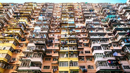Những khu nhà ổ chuột của nền kinh tế Hong Kong