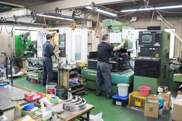 Công nhân của Fuji Techno Machine