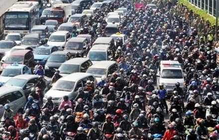 Hà Nội đưa ra lộ trình hạn chế xe máy vào năm 2030
