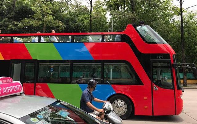 Đại diện công ty Beepro cho biết: Xe được thiết kế cho thị trường du lịch Việt Nam phát triển sản phẩm city tour. Ảnh: Tuấn Anh - Otofun