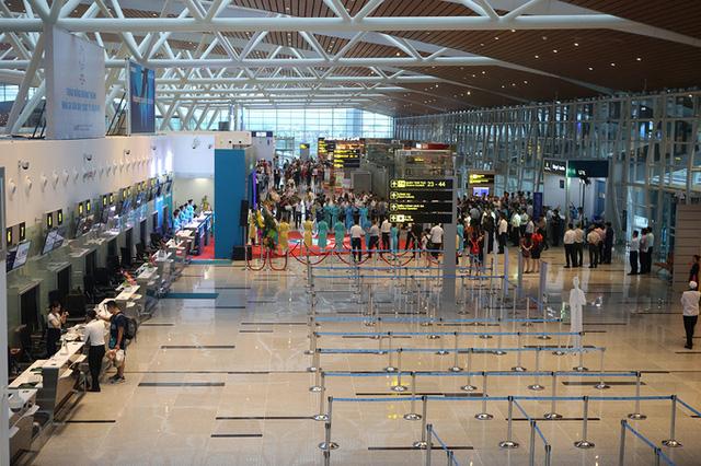 Nhà ga có thể đáp ứng công suất từ 4-6 triệu hành khách/năm, đáp ứng phục vụ 1.600 hành khách/giờ cao điểm