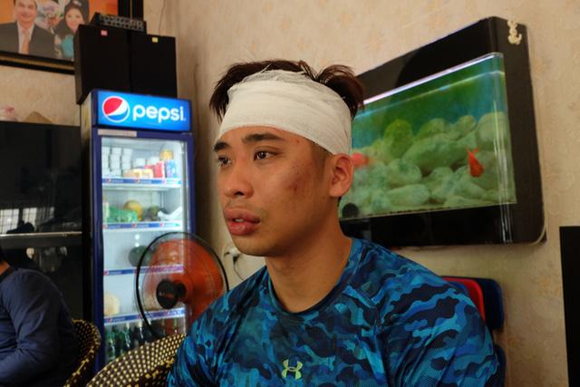 Đi cùng bạn gái đến Trung tâm California Fitness, nam thanh niên bị nhóm người trong phòng tập đánh rách đầu - Ảnh 2.