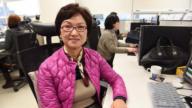 Bà An Kyeong-hwa, 59 tuổi, nhân viên công ty