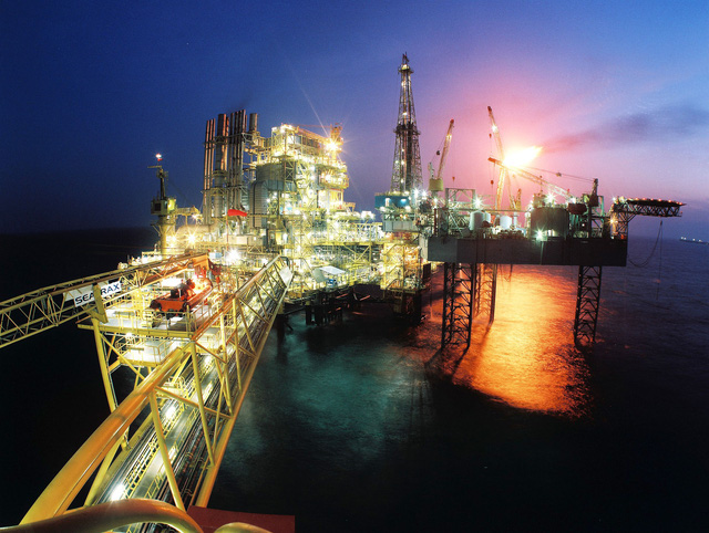 Dầu khí đã đem lại sự giàu có cho Qatar.