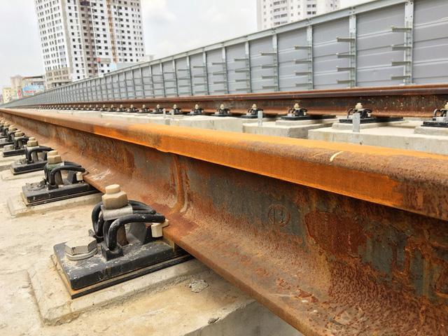 Cận cảnh những vết nứt tại dự án đường sắt trên cao Cát Linh - Hà Đông - Ảnh 5.