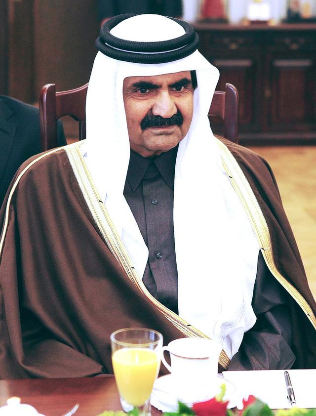 Quốc vương Qatar Hamad bin Khalifa al-Thani