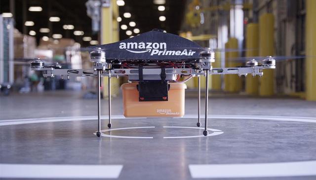 Dịch vụ giao hàng PrimeAir của Amazon.
