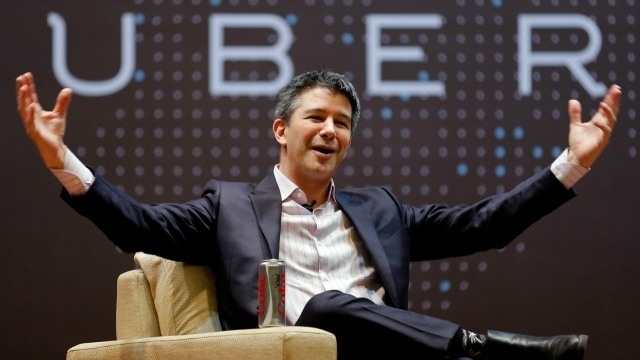 CEO Uber - Travis Kalanick.