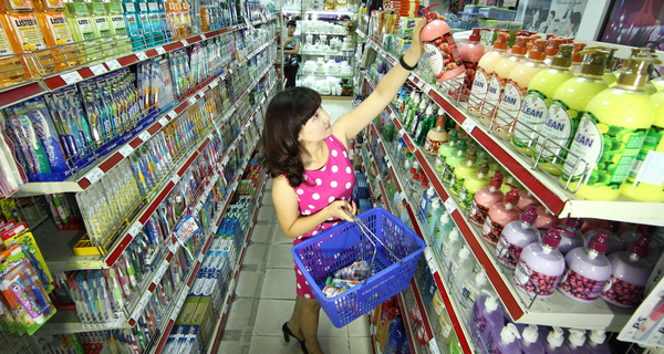 Mặt hàng tiêu dùng nhanh giảm tăng trưởng trong quý 2