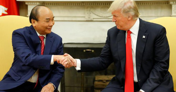 """Tổng thống Donald Trump: """"Ngài Thủ tướng đã làm được điều ngoạn mục ở Việt Nam"""""""