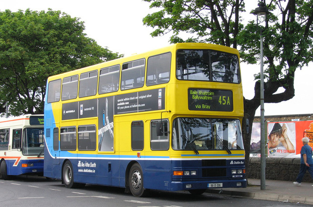 Xe buýt hai tầng tại thủ đô Ireland chỉ nhiều sau London
