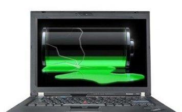 Sử dụng pin laptop